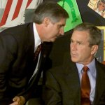 Rare Photos show the moment President George W. Bush learned of the 9/11 attacks