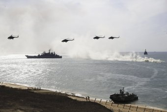the-drills-which-also-stretched-across-southern-russia-consisted-of-120000-troops