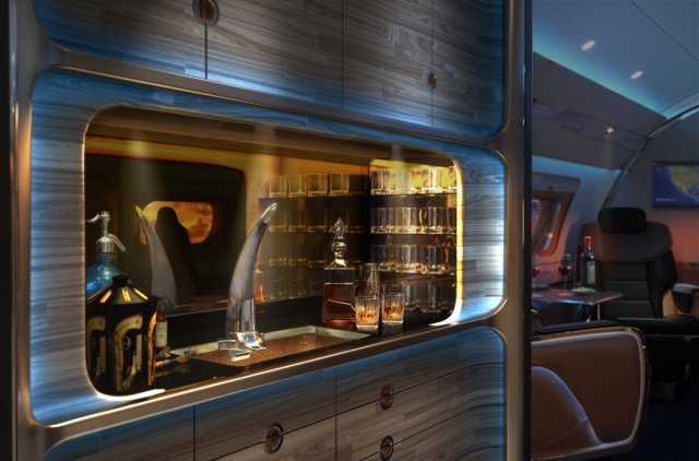 the-impressive-galley-features-a-bison-horn-beer-tap-and-faucet-as-well-as-inlaid-onyx-countertops-