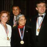 1986: Trump, Rosa Parks, Muhammad Ali received 'Ellis Island' award