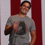 Political Cheerleader: Clinton campaign gives Hillary fanboy Mark Cuban a front-row seat for Monday's debate