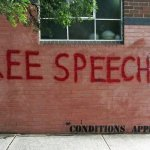 "Content restrictions placed on university's ""free speech"" wall"