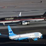 PHOTOS: Trump's Plane Is Big League Compared To Clinton's