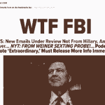 """TRIGGERED: """"Journalists"""" Dismiss Announcement Of Hillary's Case Being Re-Opened"""