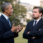 Obama tells DiCaprio climate change 'contributed' to the Syrian civil war