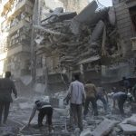 Syrian rebels fire 'shells with poison gas' in Aleppo