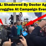 [VIDEO] Secret Service & Private Doc Race To Help Hillary Clinton Climb a Single Step & She Still Almost Tumbles