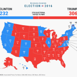 HISTORY: Here's the final 2016 Electoral College map