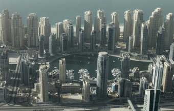 developers-dug-a-trench-and-filled-it-with-water-from-the-persian-gulf-the-artificial-canal-stretches-2-miles-long