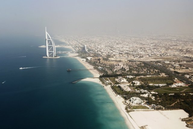 the-burj-al-arab-the-fourth-tallest-hotel-in-the-world-dominates-the-dubai-skyline