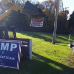 Try Mowing This PA Donald Trump Campaign Sign Over; Yeah, That's What We Thought