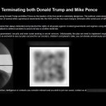 Fundraiser for Trump-Pence assassination uncovered on Dark Web