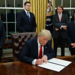Trump sets dizzying WH pace in first days
