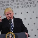 President Trump tells CIA: 'I'm with you 1000 percent'