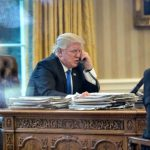 President Trump Takes Calls with World Leaders: Germany, France, Australia, Russia, Japan