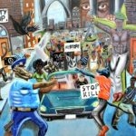 Another GOP Congressman Removes Anti-Cop Painting Hours After Clay Rehangs It