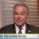 WATCH: Tim Kaine Implies That Officials In Trump's Administration Are Holocaust Deniers