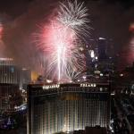 14 tons of trash after big New Year's Eve party on the Vegas Strip