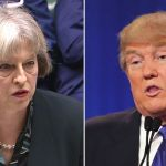 Donald Trump says he is 'looking very much forward' to meeting Theresa May
