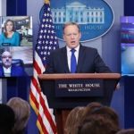 WATCH: 'Journalists' FREAK After Spicer Fields First Ever Skype Questions At White House Briefing