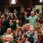 PLANT? Child asks congressman to 'hold Russia accountable' at town hall meeting (VIDEO)