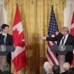 President Trump, PM Trudeau Talk Border Security And Syrian Refugees In First Joint Press Conference