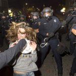 VIDEO- People's Republic of UC Berkeley: Pole-Wielding Thugs Hunt & Terrorize Trump Supporters, KO Man in Street