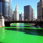 WATCH: Timelapse shows the Chicago River being turned green for St. Patrick's Day