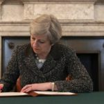 Theresa May Formally Triggers Brexit