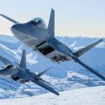 US Military Intercepts Russian Bombers Near Alaska's Coast With F-22 Raptors