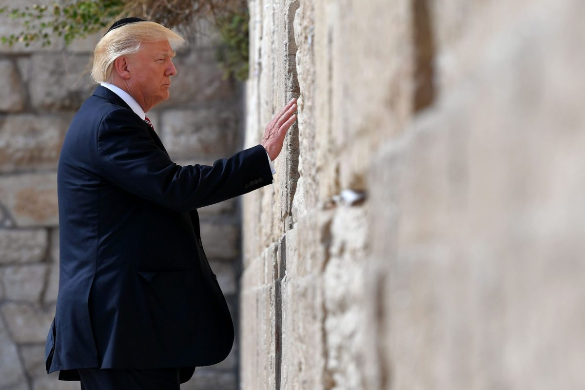 VIDEO: President Trump Visits The Western Wall