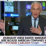 WATCH: Tucker Carlson corners Jorge Ramos with facts during tense debate on illegal immigration