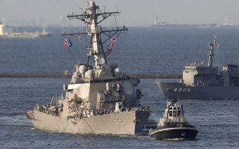 VIDEO: Multiple Sailors Missing After US Destroyer Collides With Container Ship – True Pundit