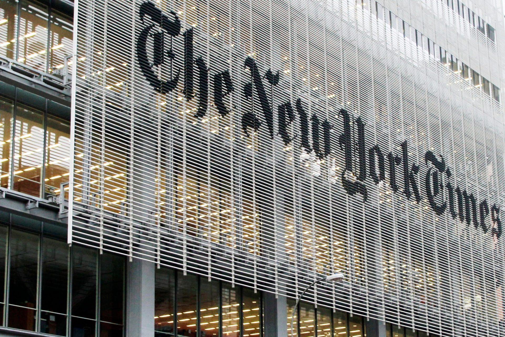 NYT Is Sponsoring An Assassination Depiction Of Donald Trump – True Pundit
