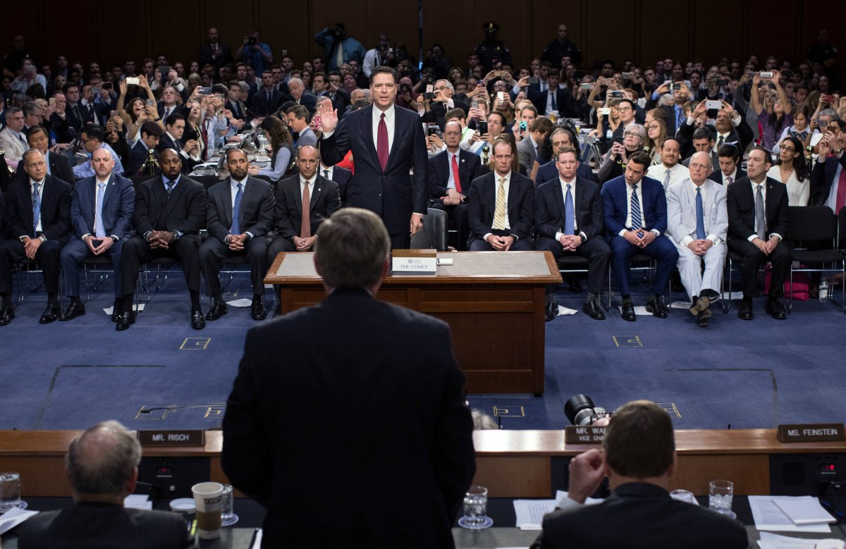 Comey Goes After Press In Senate Hearing, Says That A Lot Of Stories 'Are Dead Wrong'