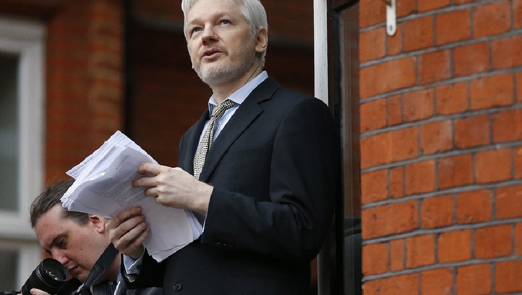 WikiLeaks founder Julian Assange threatens to sue Mike Rogers on 'day one' if he's picked to lead FBI