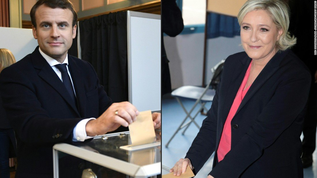 France chooses its next president after bitter campaign