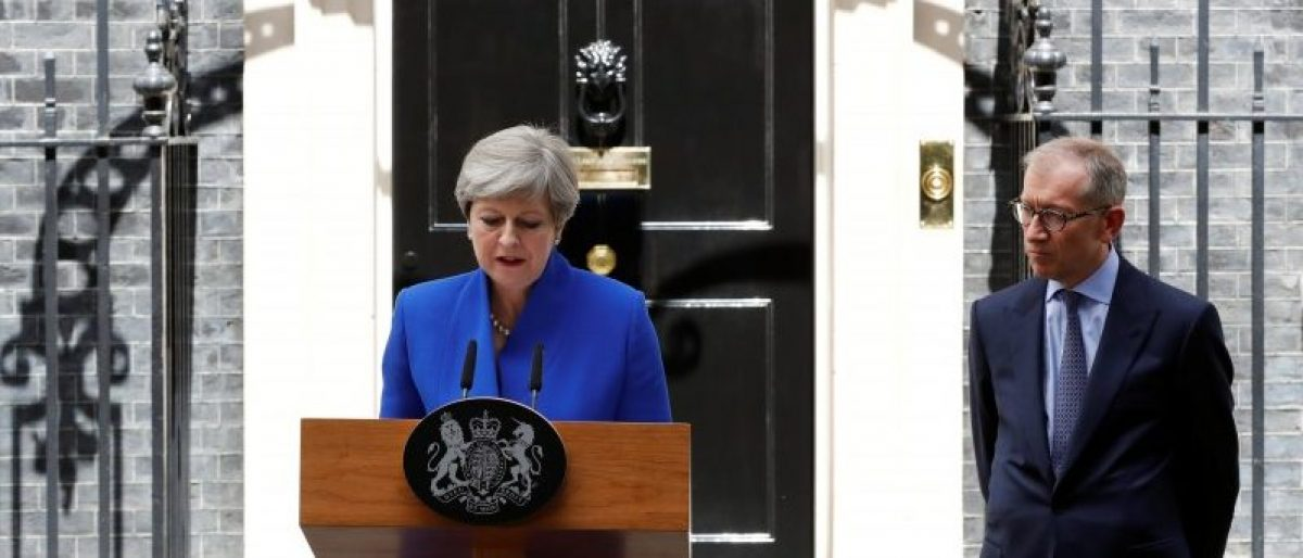Theresa May Could Be Gone Within Days
