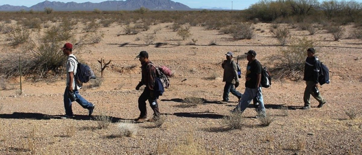 Border Patrol Agents Save Illegal Immigrant Left To Die In Desert