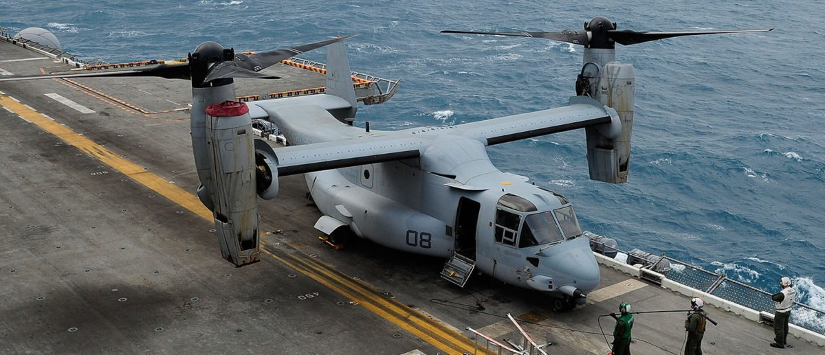 Military Identifies Three US Marines Killed In Plane Crash Off Australia