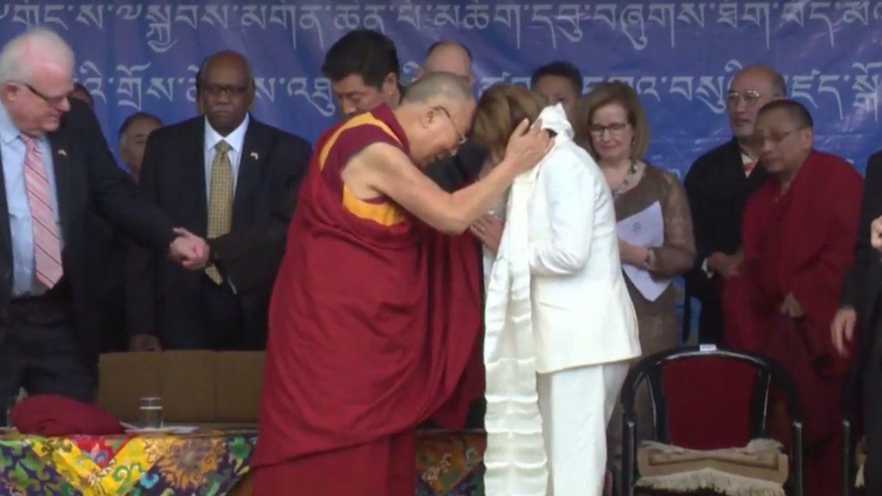 Pelosi: Dalai Lama 'prayed for me' to stop my negativity