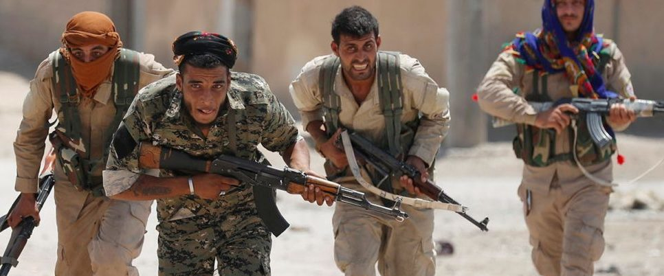 US-Backed Forces Breach Center Of ISIS 'Capital' In Syria