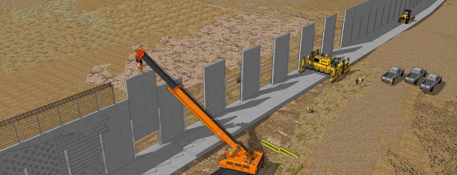 Homeland Security Announces Border Wall Prototype