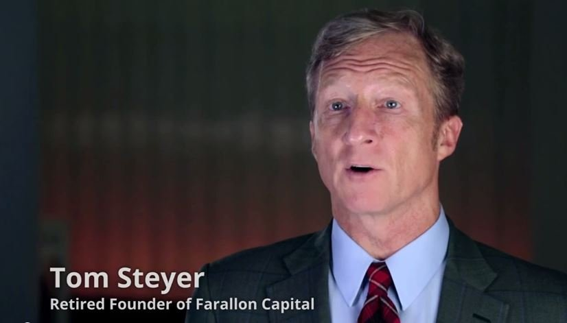 Steyer Claims Paris Agreement Withdrawal Would Be 'Act of War'