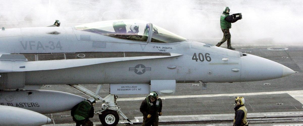 Navy F-18 Super Hornet Crashes In Bahrain