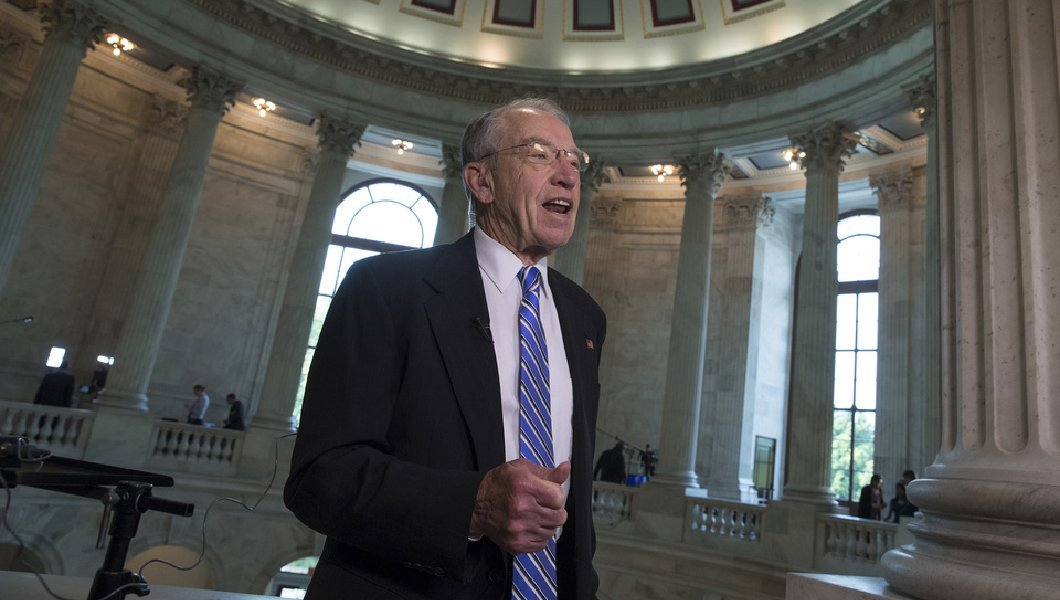 Watch: Chuck Grassley tells people comparing Trump to Nixon to 'suck it up'