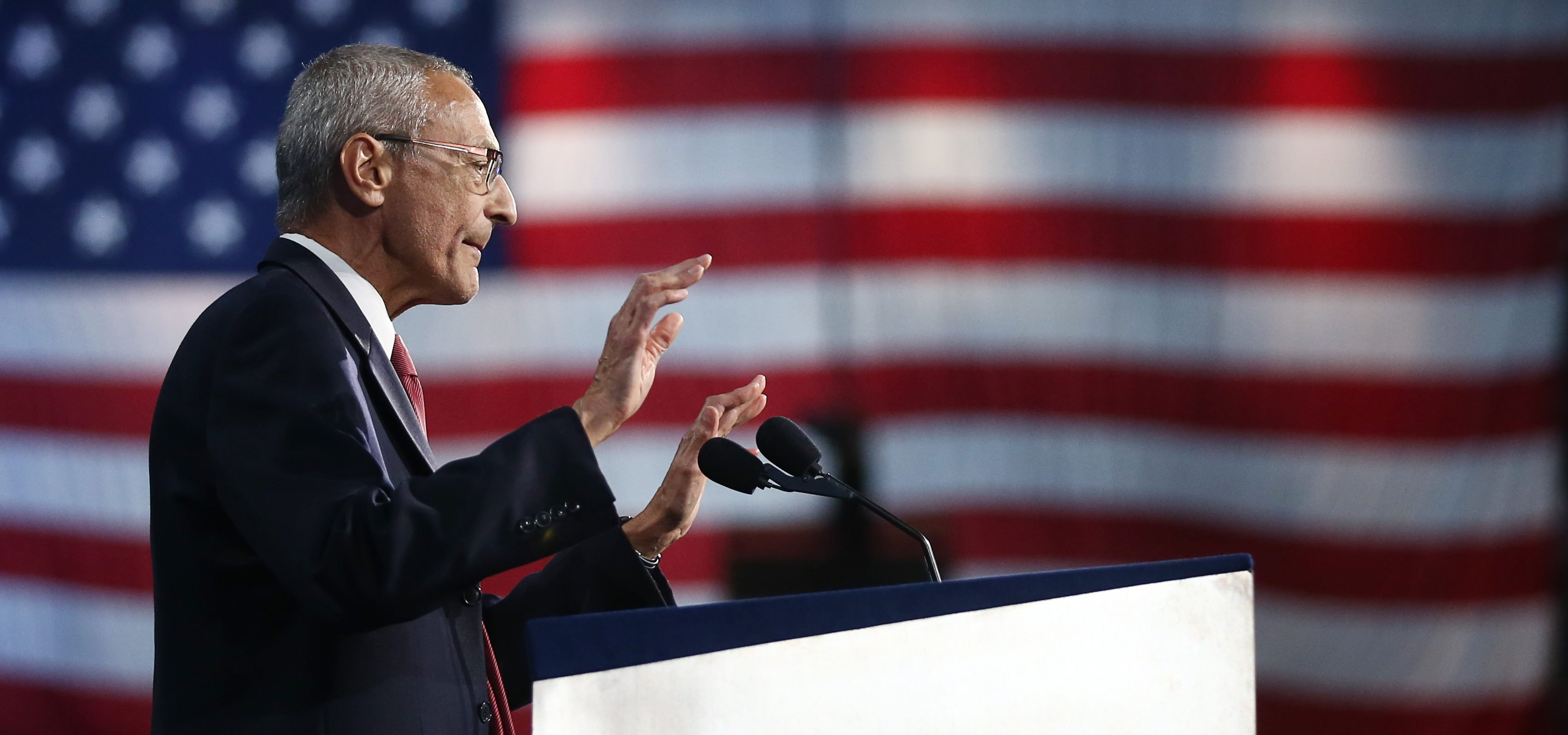 Trump Says Leaders At G20 Discussed Podesta's Refusal To Turn Over DNC Email Server