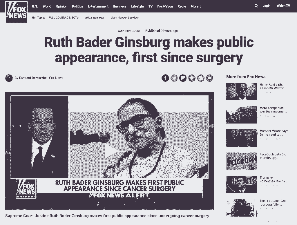 RUTH BADER BLACKOUT Fox-News-First-Public-Appearance-Since-Surgery-1024x776