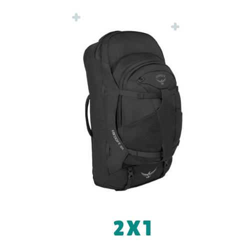 mochila de viaje para nomadas digitales