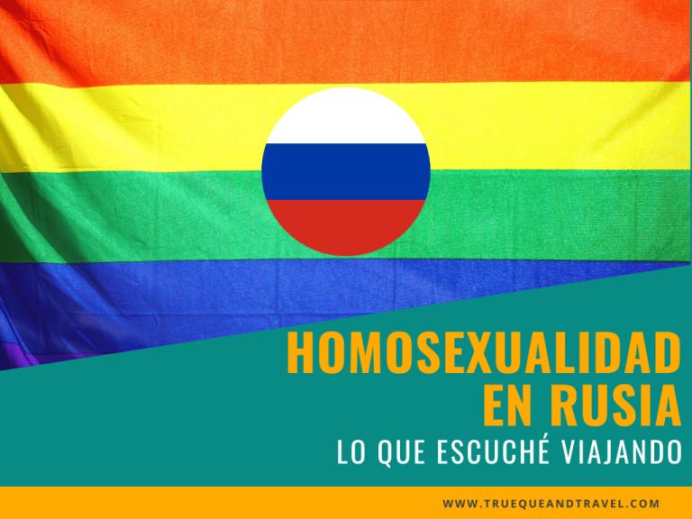ser homosexual en rusia